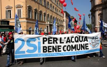 L'acqua pubblica al tempo del referendum costituzionale