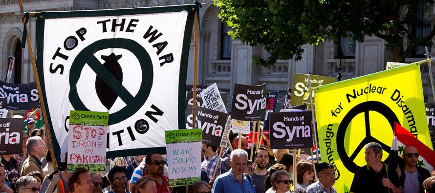 «Basta stragi! Fermiamo le guerre». La nonviolenza attiva si rimette in marcia