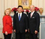Xi Jinping e Hillary Clinton