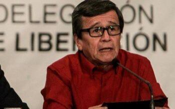 """Pablo Beltrán, jefe negociador del Eln (Colombia): """"Queremos que se acabe la confrontación"""""""
