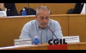Fausto Durante. Diritti sociali e del lavoro come pietra angolare del nuovo modello europeo