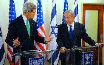 Kerry: l'ostacolo ai due Stati, Israele e Palestina, sono le colonie