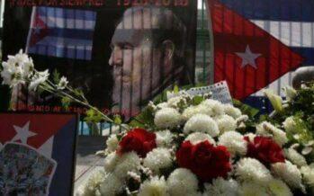 Fidel Castro torna nella città rebelde, Santiago