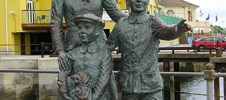 """Il viaggio di Annie Moore. La """"migrante zero"""" che cambiò Ellis Island"""