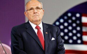 Giuliani a capo della cyber security negli USA