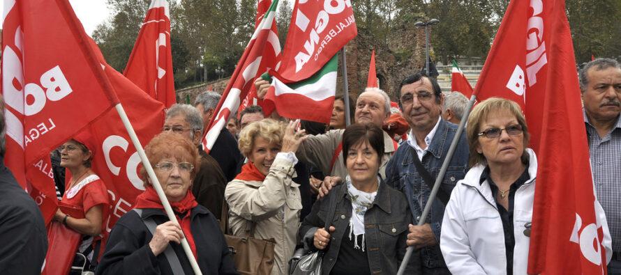 Spi Cgil: «I pensionati sono un terzo del paese: ci devono ascoltare»