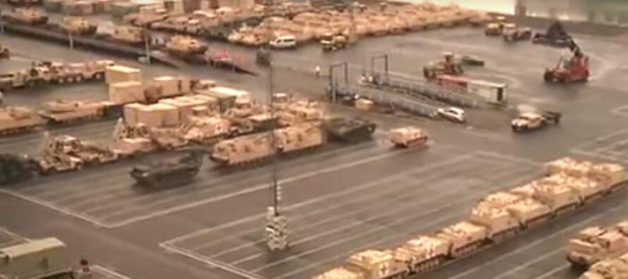 Gli Stati Uniti schierano carri armati in Polonia