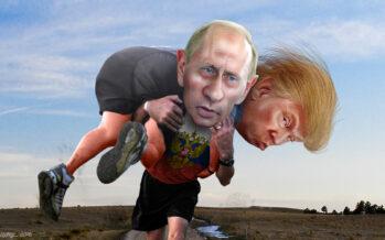 Per Donald Trump «una caccia alle streghe» gli attacchi a Putin