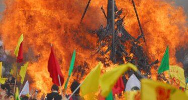 KURDISH NEWROZ CELEBRATED: RESIST!