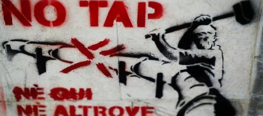Melendugno, tre giorni No Tap contro le «Grandi opere»