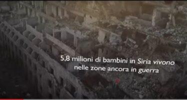 L'infanzia distrutta dei bambini siriani