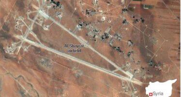 Bombardamento USA su base aerea di Assad