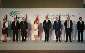 G7. I grandi verso la web tax, ma a passi lentissimi