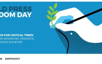 MAY 3. WORLD PRESS FREEDOM DAY