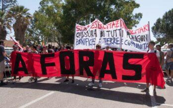2 giugno in Sardegna: «A Foras» dalle servitù militari