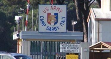 Camp Darby si riarma, no-war in piazza