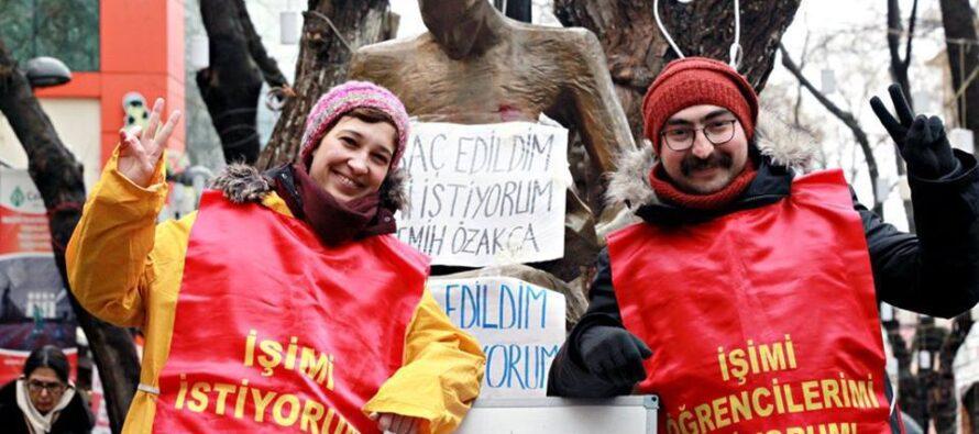Turchia: dalla cattedra al carcere duro. L'ingiustizia infinita di Erdogan