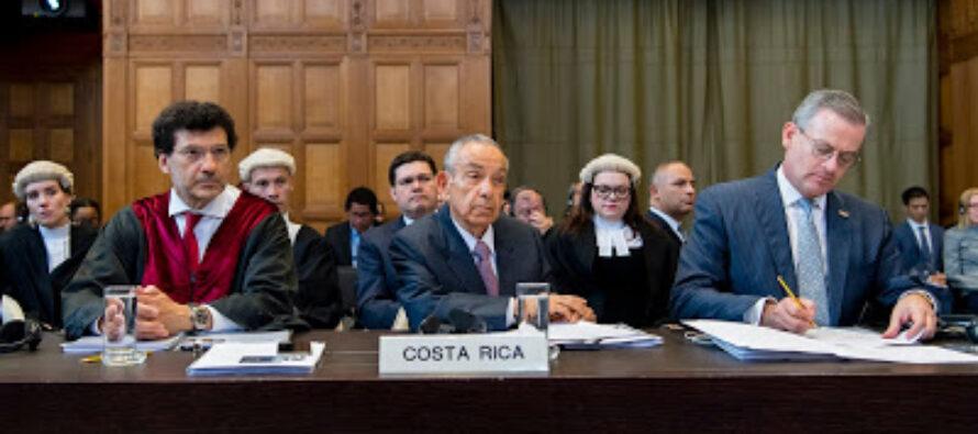 Costa Rica / Nicaragua: conclusión de audiencias orales ante la Corte Internacional de Justicia