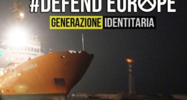 """In arrivo la nave dell'ultradestra contro le ONG: """"Bloccheremo i clandestini in Libia"""""""