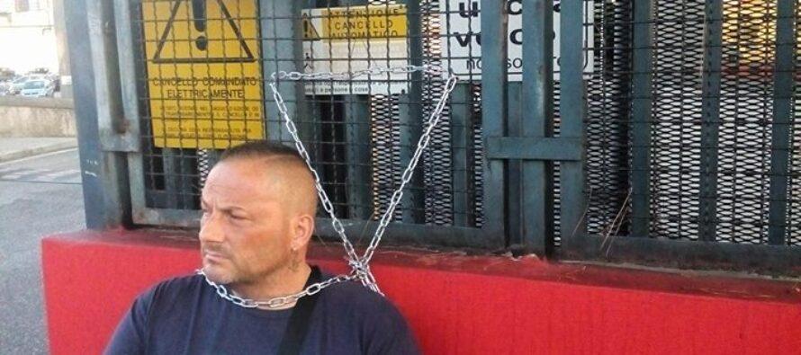Napoli.La lotta degli operai Hitachi tra disperazione e coraggio