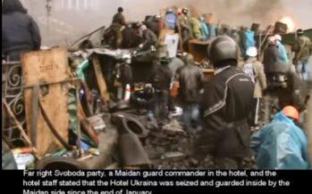 Ucraina. Il ruolo dei neofascisti durante la Maidan