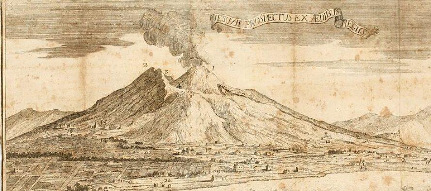 Emergenza incendi sul Vesuvio
