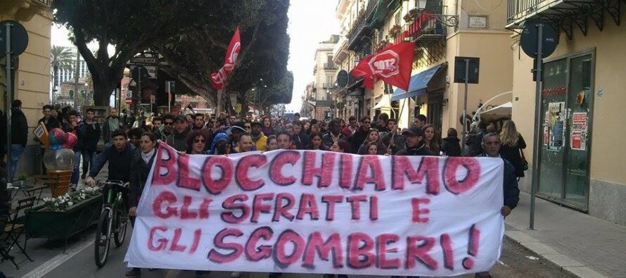 Sgomberi, la prefettura di Roma vuole buttare per strada oltre 11mila persone