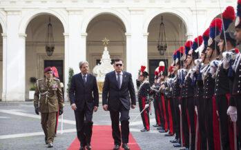 Missione italiana in Libia, il vice premier sconfessa Sarraj