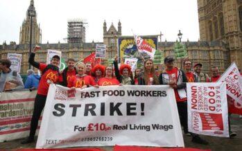 Nei Fast food sciopero globale per il salario minimo