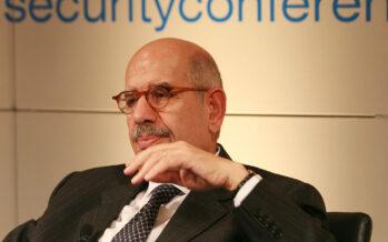 """Il Nobel Mohammed El Baradei: """"Mai stati così vicini allo scontro nucleare"""""""