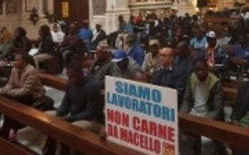 Puglia.Migranti feriti mentre vanno al lavoro, Basilica occupata