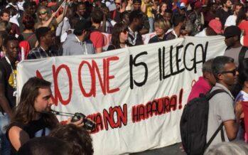 In ventimila a Roma. Ventimila manifestano contro il razzismo e per lo ius soli