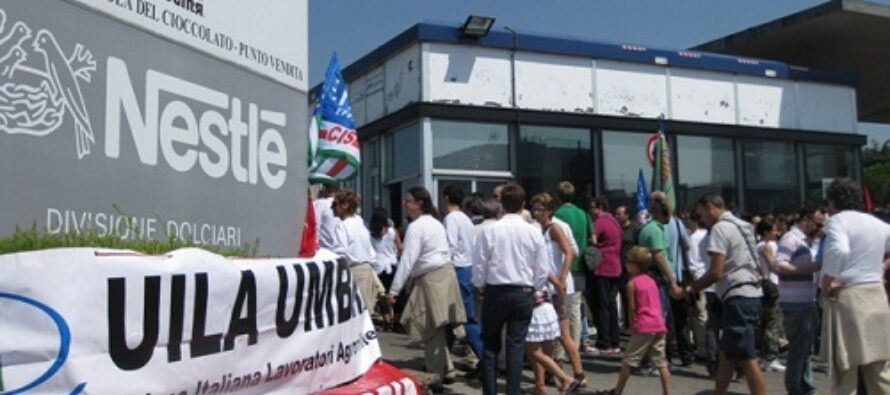 Nestlé, sciopero nelle fabbriche del cioccolato Perugina