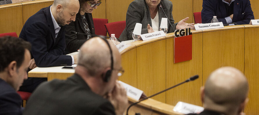 15° Rapporto. Susanna Camusso: Riportare i diritti nel lavoro