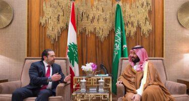 Il premier Saad Hariri si dimette e rovescia il tavolo libanese
