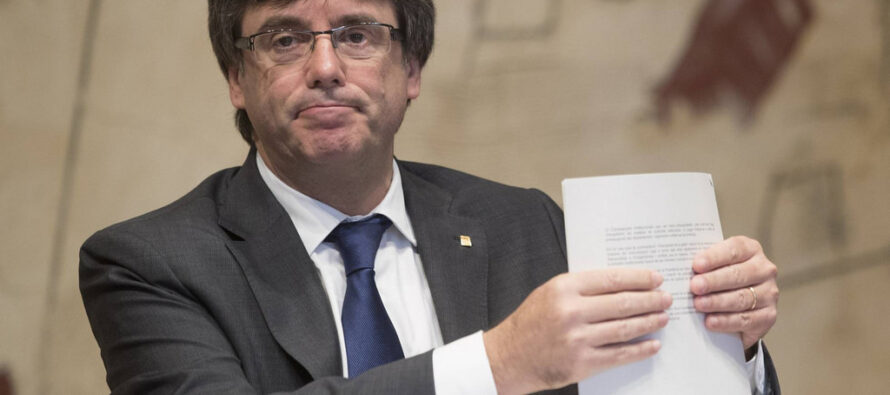 La Spagna ritira l'euro-mandato d'arresto per Puigdemont
