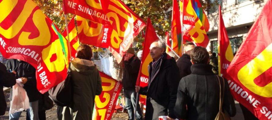 Oggi i sindacati di base in sciopero generale
