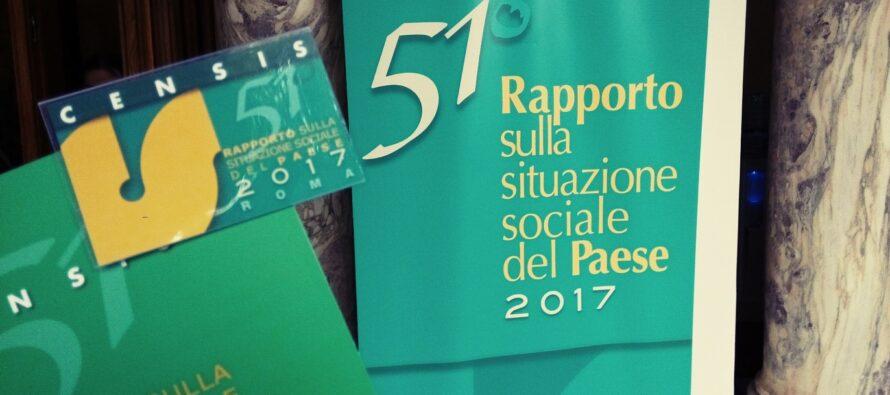 Rapporto Censis, 'l'Italia della ripresa e del rancore'