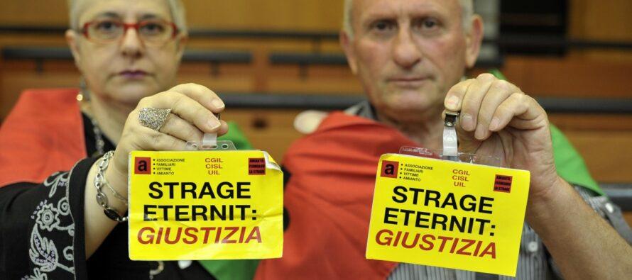 La Cassazione derubrica l'accusa alla Eternit