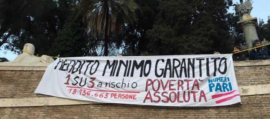 Gli Invisibili in marcia a Rom per diritti, reddito e permesso umanitario