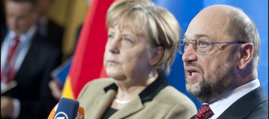 Scambio e accordo Cdu-Spd: nasce la coalizione social-democristiana