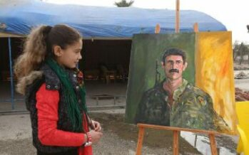 "Artists in Neim Square organised ''Art against war"" exhibition"