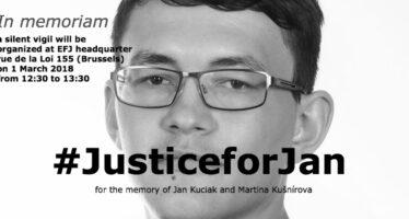 Slovacchia. Rilasciati i sette italiani per l'omicidio di Jan Kuciak