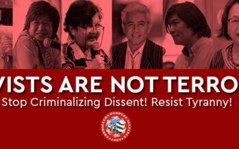 Filippine.Nella lista nera del governo leader indigene e relatrici Onu