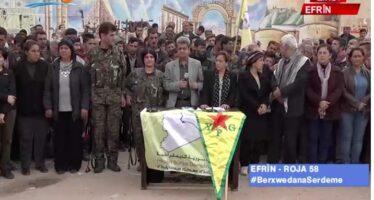 Afrin è sola?