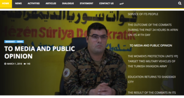 Syrian Democratic Forces (SDF) Statement on UN Resolution 2401