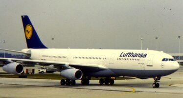 Sciopero alla Lufthansa: oggi cancellati 800 voli