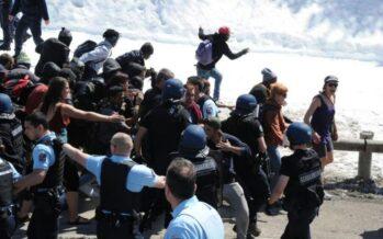 Al Monginevro No Tav contro neofascisti, tensione sul fronte migranti