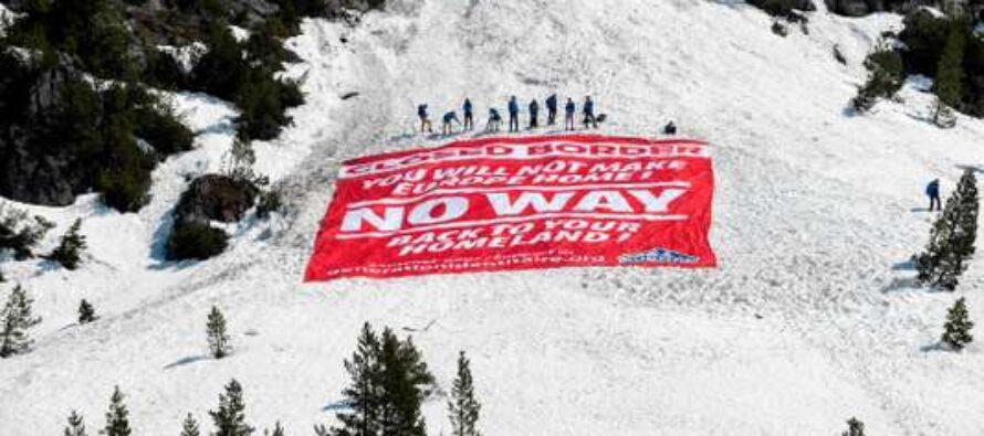 Neofascisti francesi alzano recinzione anti-migranti