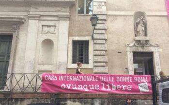 Roma, Casa delle donne, la chiusura imposta dalla giunta 5 Stelle «è inaccettabile»